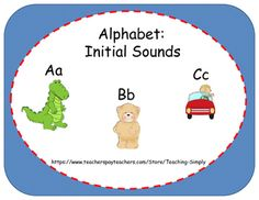 Help students master the alphabet sounds with these initial sound/picture matching pages.**All pages in the product are shown in the preview.**Common Core Aligned:CCSS.ELA-LITERACY.RF.K.1.DRecognize and name all upper- and lowercase letters of the alphabet.This is a 32 page packet with pages for students to practice their sounds of the alphabet.