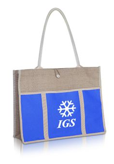 Promote your business in style in these simple but chic custom tote bags!  Cheap Logo b851b3b63