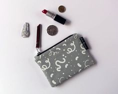 Small Sage Zipper Purse Coin Purse Pouch Purse Hand Sage, Coin Purse, Pouch, Textiles, Zipper, Purses, Trending Outfits, Unique Jewelry, Handmade Gifts