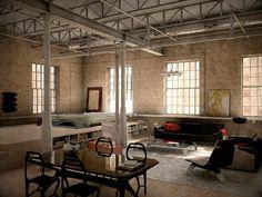 Loft NY by escuelatrazos on DeviantArt