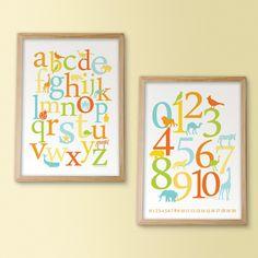 Alphabet Animals / Numbers
