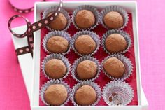 These dreamy choc treats are perfect to make as a Christmas gift, or to serve with afternoon tea.