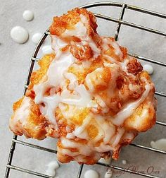 Delicious Peach Fritters
