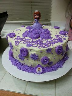 Princess Sophia cake for Britney on her fourth b day