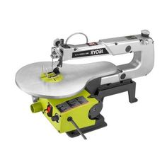 Ryobi 16 in. Corded Scroll Saw-SC165VS - The Home Depot