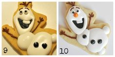 How to Make Disney Frozen Cookies – How to Make Olaf Cookies | Suz Daily