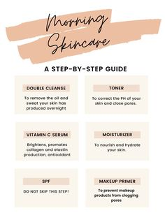 Makeup Tips For Dry Skin, Skincare For Oily Skin, Face Routine, Skin Care Routine Steps, Korean Morning Skincare Routine, Morning Routines, Monat Hair, Nu Skin, 2 Instagram