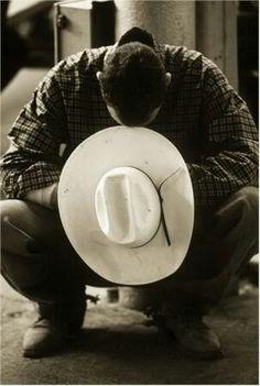 Yes! A man that prays!  Cowboy Prayer