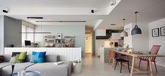 apartamento moderno con diseño nordico