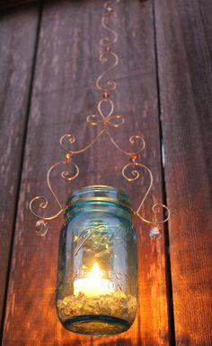 Original LoriJane - Twisted in California lantern - DIY