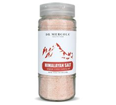 Himalayan Crystal Salt is a premium natural salt that helps regulate your body's blood sugar, water, and PH levels, and promote respiratory and vascular health. http://products.mercola.com/himalayan-salt/