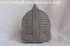 Viking Helmet by crowshadeknits on Etsy, $30.00
