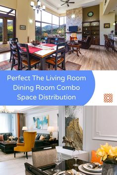 Don't know how to combine your dining room with your living room? Creating a cohesive living room dining room combo won't be hard if you put these smart design ideas to use!