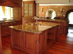 An excellent range of granite countertops are just available at S & D Granite. World-class countertops are easily available with us. We make your work easy by offering these beautiful granite countertops offered at numerous designs, styles and patterns. Quartz Kitchen Countertops, How To Install Countertops, Granite Kitchen, Kitchen Islands, Granite Table, Granite Bathroom, Countertop Options, Stone Kitchen, Kitchen Backsplash