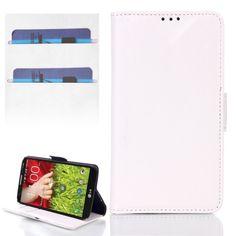 LG Optimus G2 mini flip cover, case, hoesje, frontje wit