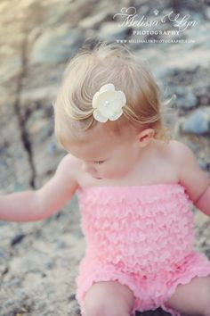 Cutest little ruffle outfit.