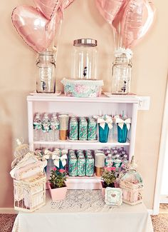I love everything about this!! Lovely Vintage Rose + Little Birdie Themed Party