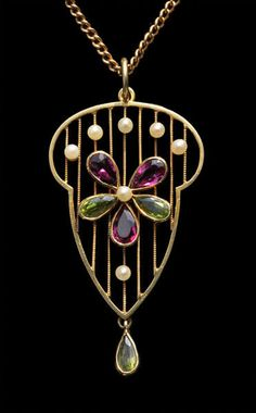 Pansy Pendant in Suffragette Colours - Tadema Gallery Suffragette Jewellery, Suffragette Colours, Antique Jewelry, Vintage Jewelry, Family Jewels, Art Nouveau Jewelry, Rocks And Minerals, Jewelery, Men's Jewelry