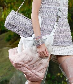 b48f6ec4d55d Chanel Lavender Pink Spring 2018 Bag Collection is one of the best  collections coming up this season. The boucle lilac lavender bags are  dreamy.