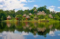 Ecuadorian Amazon Eco Lodges - Go on a no-holds barred dream vacation