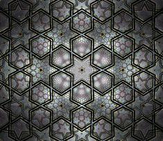 """Backgrounds Using Shapes   Mehboob Dewji: Magnificent Digital Islamic Patterns (II): """"Starlight ..."""