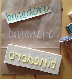 binedoro: Ein kleiner Tipp für die Herstellung von Stempeln aus Moosgummi⎜ DIY