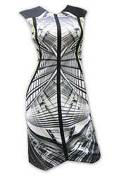 Grey Dimension Dress | Lumier