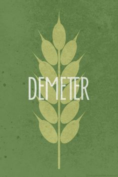 Demeter Percy Jackson and the Olympians