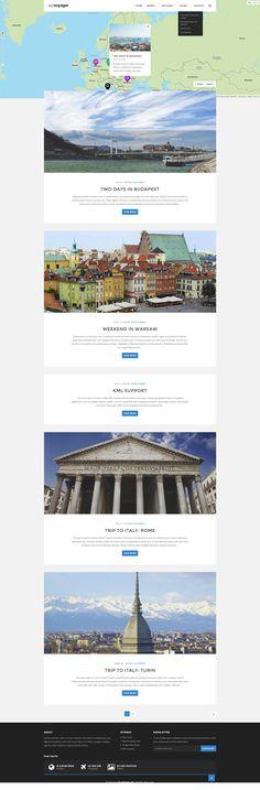 WPVoyager - Travel Blog WordPress Theme • Download ➝…