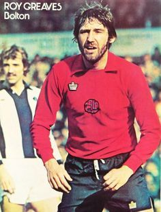 Roy Greaves Bolton Wanderers 1976