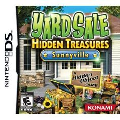 Yard Sale Hidden Treasures: Sunnyville game for DS