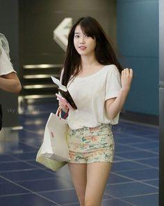 iu Korean Airport Fashion, Korean Fashion, Beautiful Asian Girls, Gorgeous Women, Korean Beauty, Asian Beauty, Vicky Justice, Korean Celebrities, Celebs