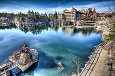 Mohonk Mountain House in HDR, New Paltz NY. <3
