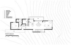 Image 14 of 18 from gallery of Val-des-Monts Cottage / Christopher Simmonds Architect. Ground Floor Plan