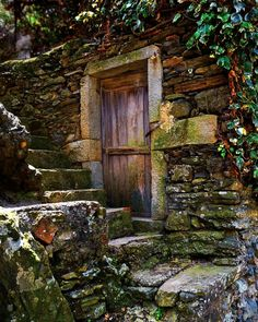 Cinque Terre Vernassa Stone Wall Stone by AroundTheGlobeImages
