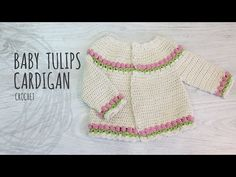 How to crochet a chunky, fair isle children's sweater / cardigan - YouTube