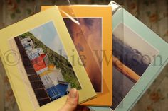 This week's Item of the Week is our Set of 3 Assorted Seaside Photo Greetings Cards with 20% off! Was £5.25, Now £4.20! These cards are blank inside for your own personal messages :) (This offer will run from Sun 18th August until Sun 25th August 2013). THIS OFFER HAS NOW EXPIRED.