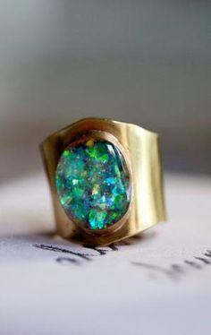 Opal ring by mayra