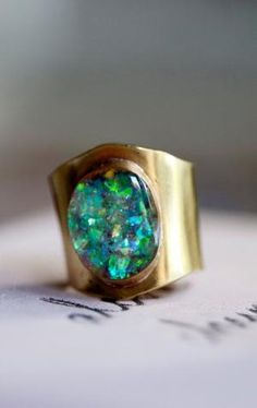 Opal ring by mayra