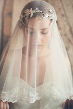 Jannie Baltzer Couture Bridal Headpieces and Veils | Love My Dress® UK Wedding Blog