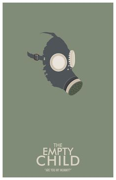 Whovian Art - The Empty Child - Doctor Who BBC Television Inspired Graphic Art Print. $18.00, via Etsy.