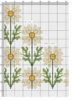 *** Flowers (3/5) Cross Stitch Owl, Cross Stitch Borders, Cross Stitch Flowers, Cross Stitching, Cross Stitch Patterns, Embroidery Stitches, Embroidery Patterns, Hand Embroidery, Stitch Cartoon