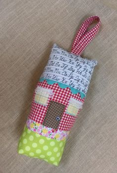 Tooth Fairy  Cottage Pillow