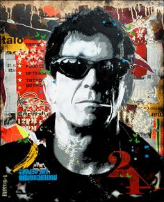 Lou Reed by Alessio-B