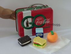"""Coca Cola Lunchbox + Lunch for 18"""" American Girl Doll Widest Selection Online #Lovvbugg"""