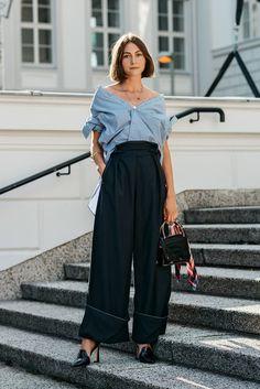fashion week spectator