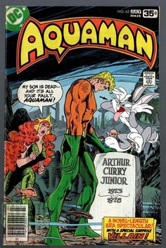 It's all your fault Aquaman! - Aquaman July 1978 cover by Jim Aparo and Tatjana Wood Dc Comic Books, Vintage Comic Books, Comic Book Artists, Vintage Comics, Comic Book Covers, Comic Book Heroes, Comic Art, Dc Comics, Aquaman Comics