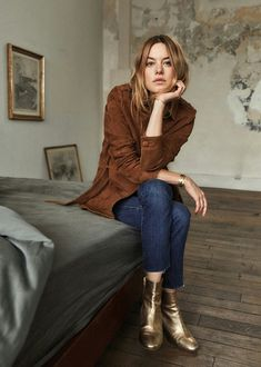 Camille Rowe Just because! Fashion Mode, Look Fashion, Daily Fashion, Fashion Outfits, Fall Winter Outfits, Autumn Winter Fashion, Winter Style, Camille Rowe Style, Image Fashion