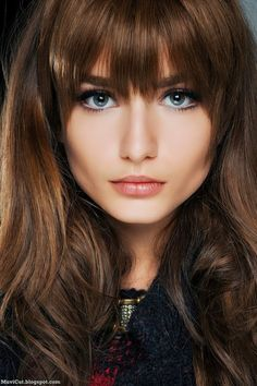 Cute girls with bangs remarkable
