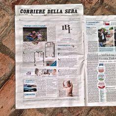 Uscita su Corriere Della Sera 17 Maggio 2014
